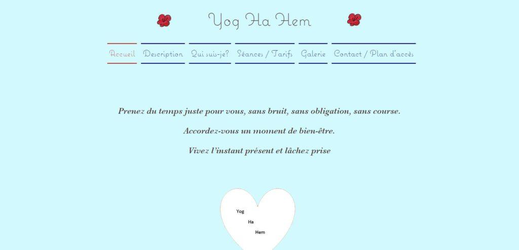 yog ha hem - site internet